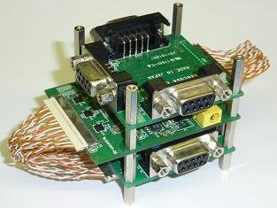 SpaceWire 6port Router Unit